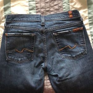Jeans with minimal wear!